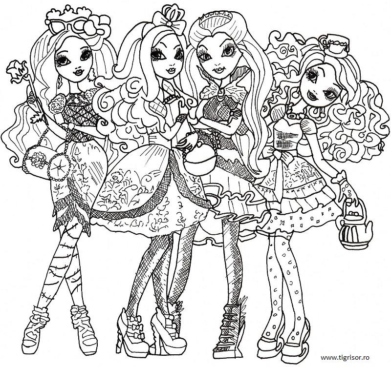 briar_beauty, apple_white, raven_queen, madeline_hatter_mare
