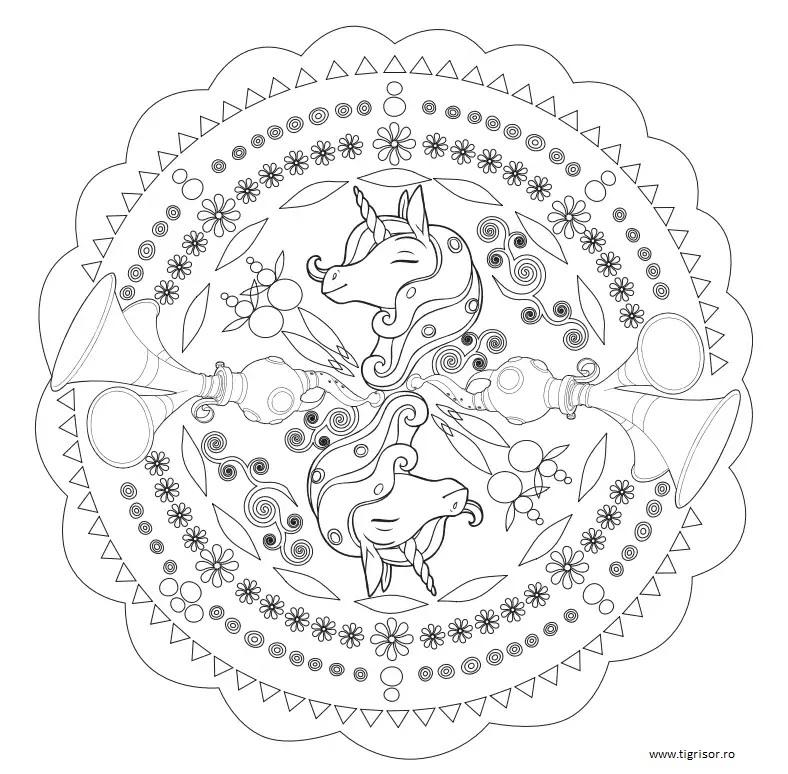 Mandala Cu Onchao Din Mia Si Eu Tigrisorro