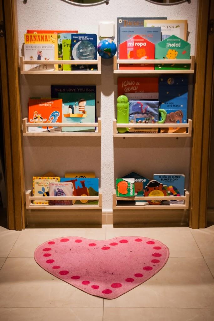 una mama arquitecta Almacenaje de libros DIY con