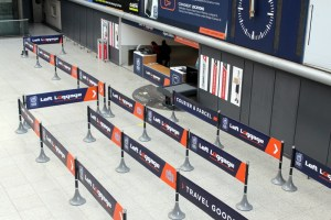 Tigrox in use by Excess Baggage in managing their customer queues
