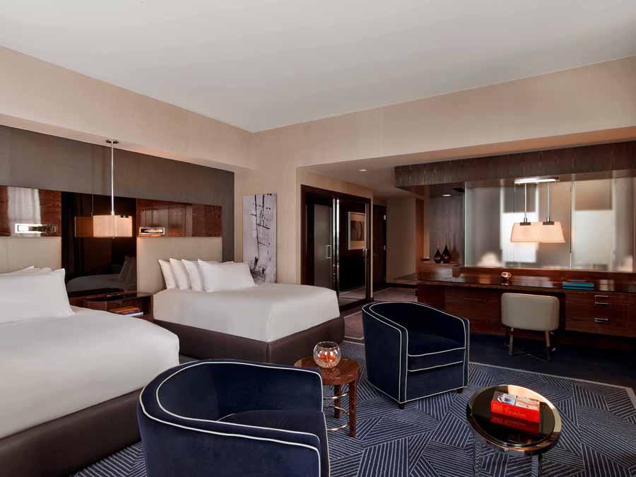 Joule Hotel Dallas Guest Rooms  Suites  Tihany Design
