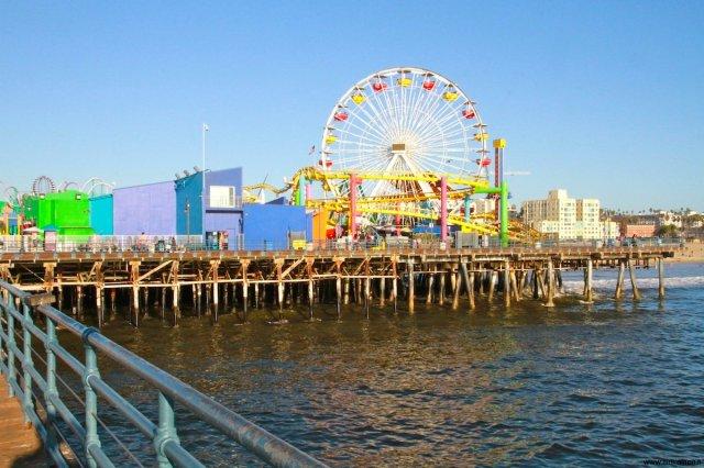 Pacific Park on Santa Monica Pier California
