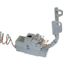 the 96 series xdsl pots splitter module splits the combined voice and data signal carried on telephone lines to provide separate outputs for both phone and  [ 900 x 900 Pixel ]