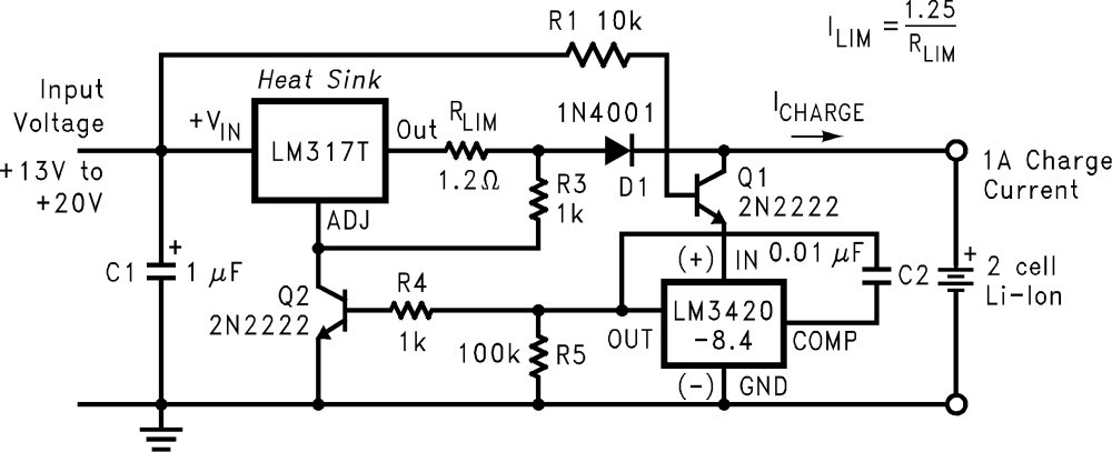 medium resolution of lm3420 tij co jpvoltage regulator circuit in addition battery charger circuit diagram 14