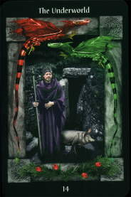 Tarot Sacred Circle De Onderwereld 14