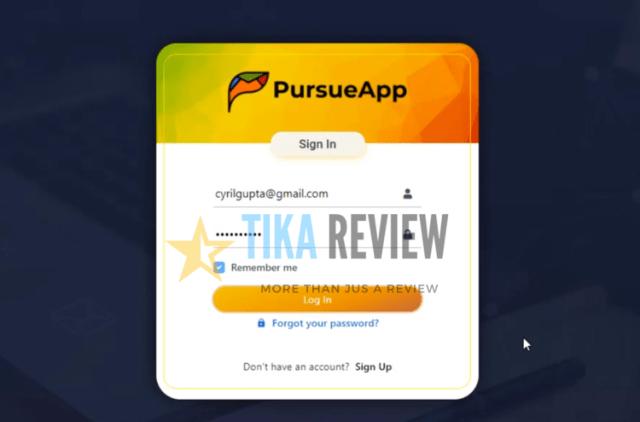 PursueApp Demo