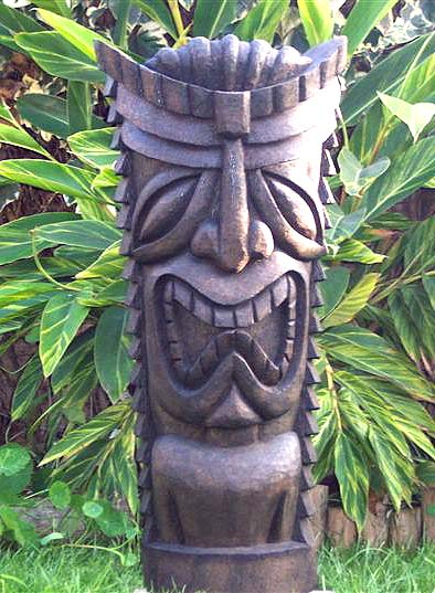 Tiki Madness  Palm Wood Tikis Recently Sold