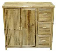 Bamboo Storage Unit with Drawers - Bamboo & Tropical ...