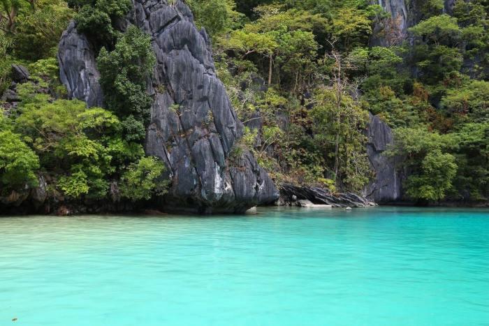 Ubugon Cove (Cadlao Lagoon) in El Nido, Palawan