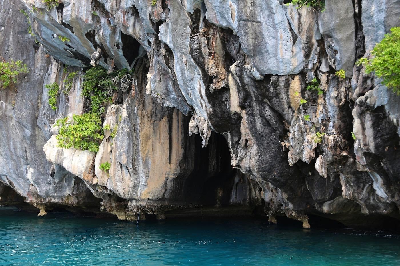 Cathedral Cave in El Nido, Palawan
