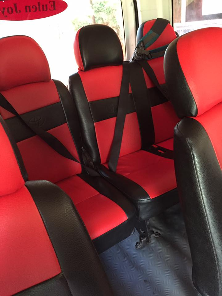 Eulen Joy Van Interior Seats