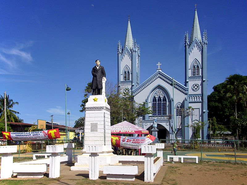 The Immaculate Conception Cathedral in Puerto Princesa, Palawan