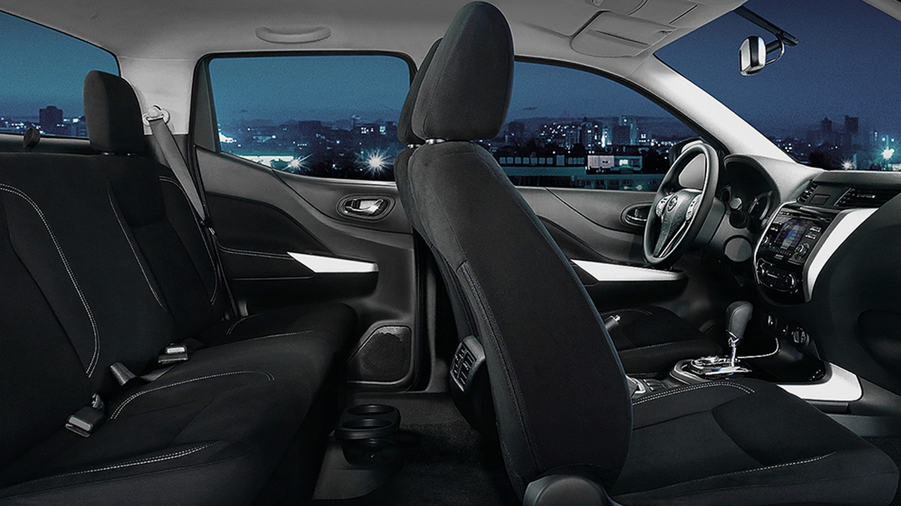 Nissan Navara Interior Seats