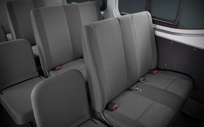 Nissan NV350 Back Seats
