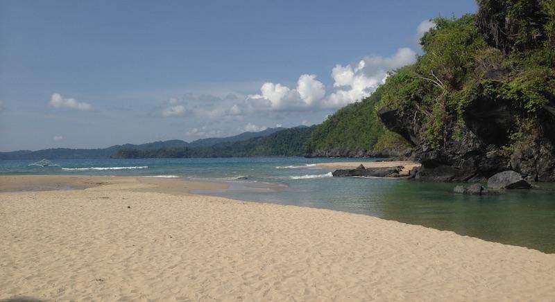 Saint Paul Beach in Puerto Princesa Subterranean River National Park