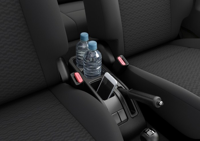 Suzuki Jimny Interior Front Seats