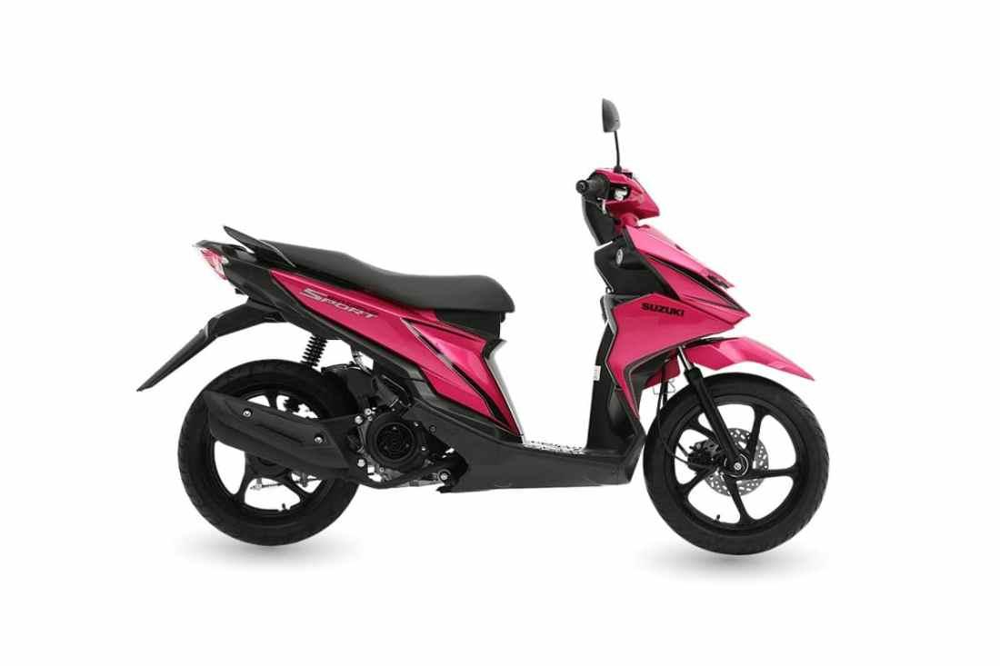 Suzuki Skydrive Scooter Side
