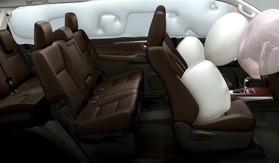 Toyota Fortuner Airbags