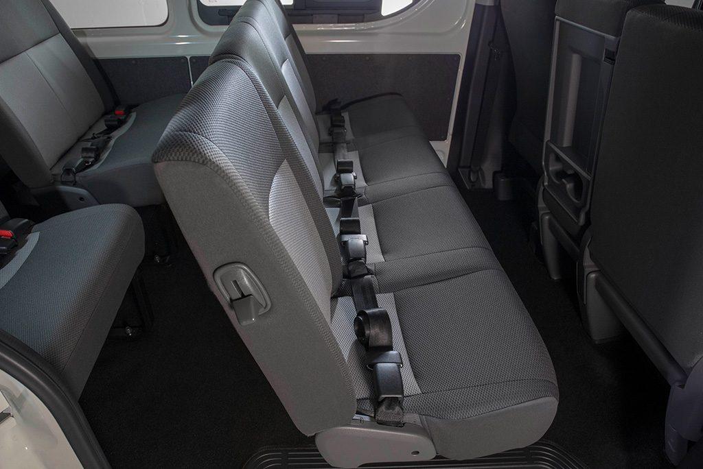 Toyota GL Grandia Back Seats