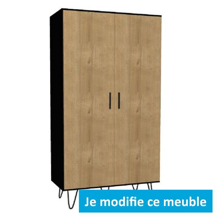 armoire a portes battantes sur mesure