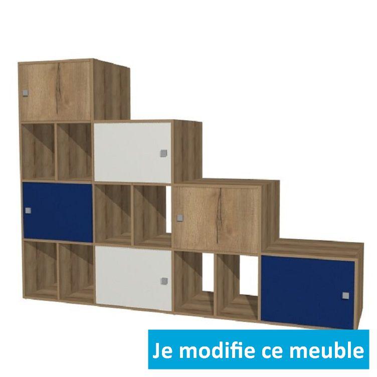 meuble en escalier a concevoir