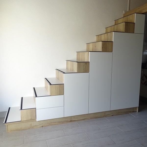 escalier sur mesure meuble a