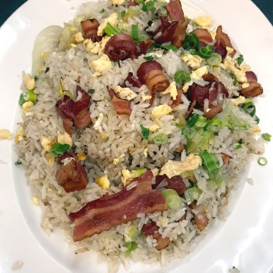 Tiki House Special Bacon Fried Rice