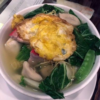 Manager Fan Mah's Tiki Special Chicken Noodle Soup