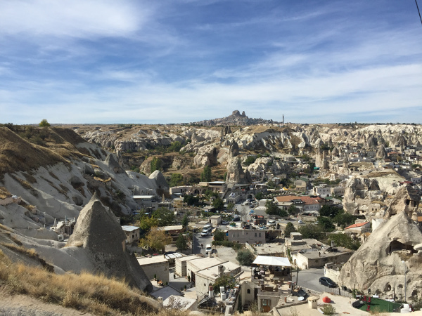 Found a sweet view upon my return to Goreme