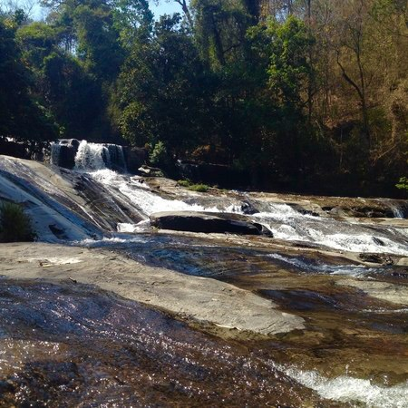 Top of Wachiratarn waterfall