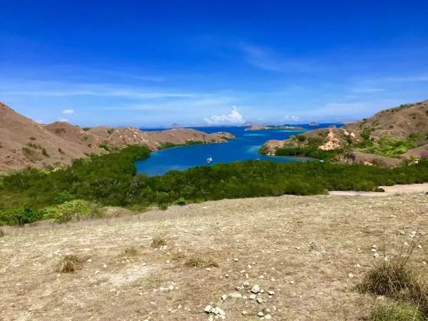 rinca island views
