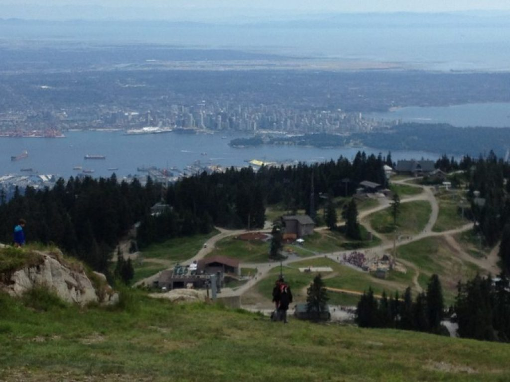 Grouse Grind views!