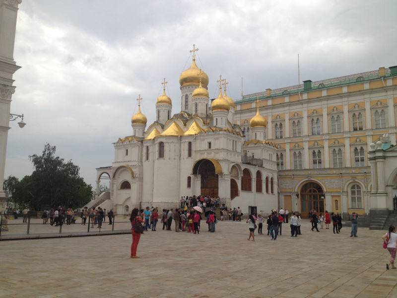 One of several attractions in Moscow's Kremlin