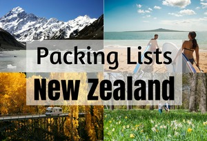 new zealand packing list