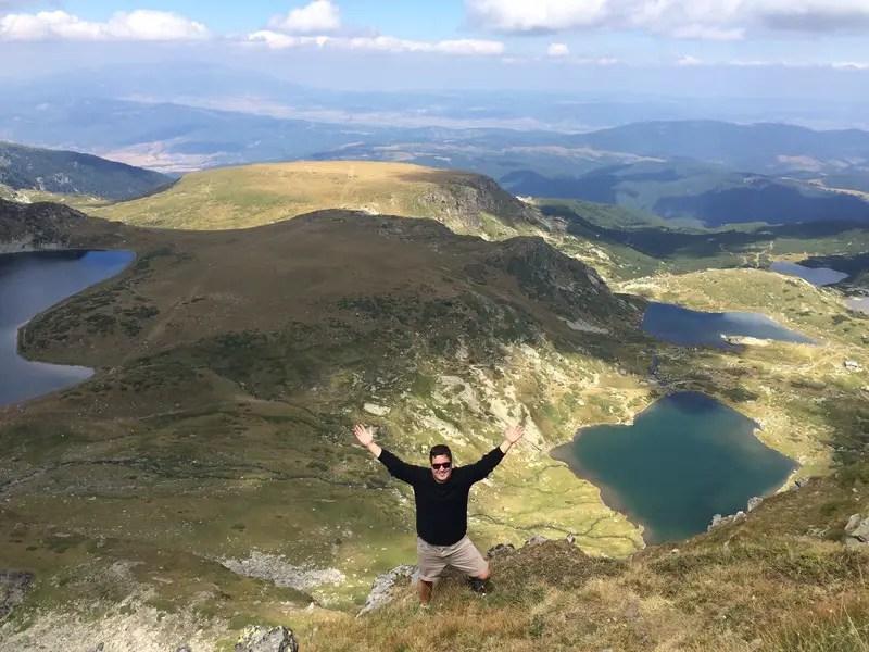 seven lakes hike