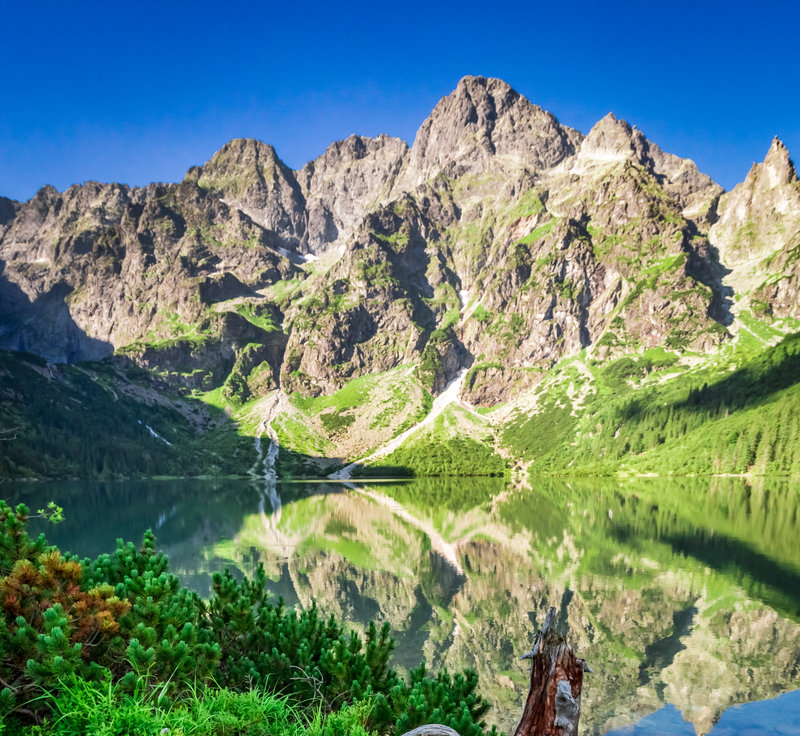 tatra moutain lakes