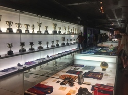 trophies galore at camp nou