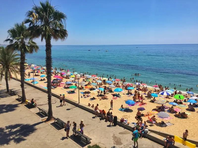 topless beaches barcelona