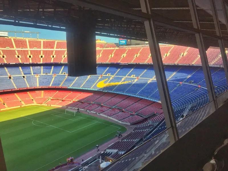 barcelona FC press room