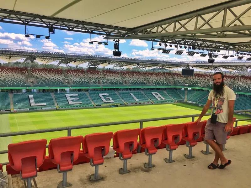 legia warsaw stadium tour review