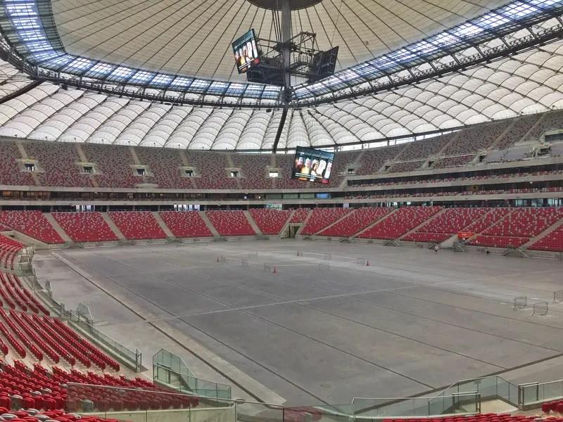 view of warsaw national stadium