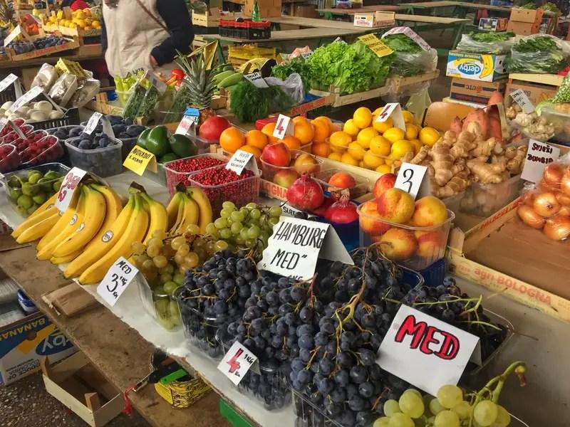 bosnia fresh market produce