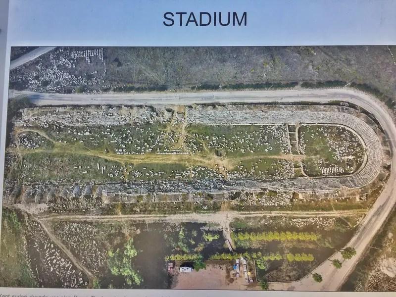 perge stadium sign