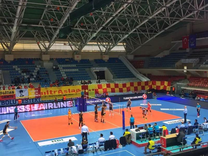 indoor volleyball istanbul