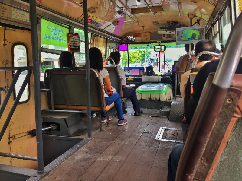 bus 59 interior bangkok