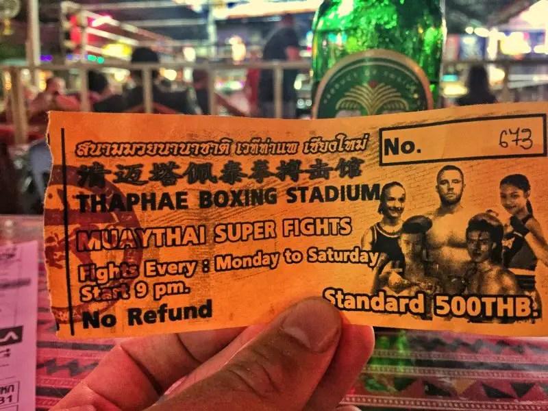 thaepae gate muay thai ticket