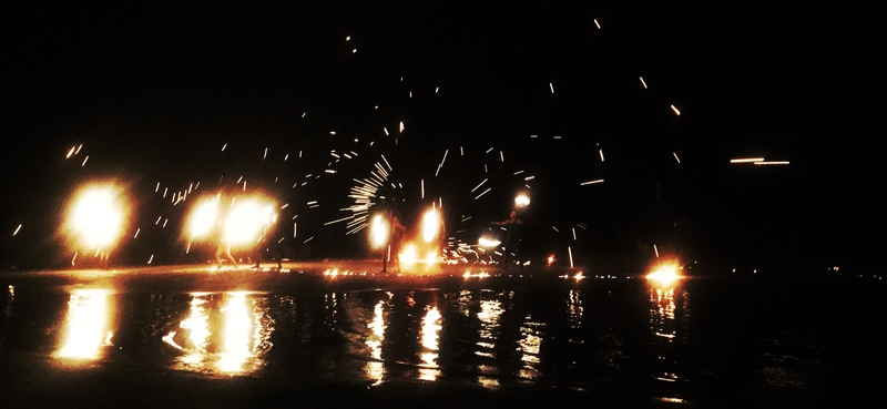 fire show on perhentian kecil