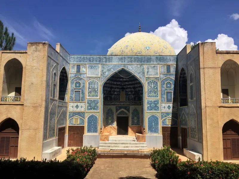 sheikh lutfallah mosque iran replica