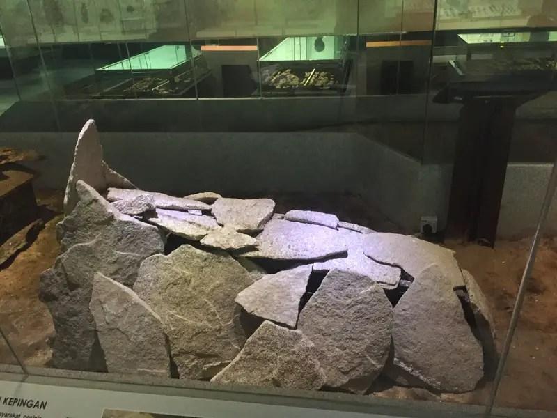 stone slab coffin