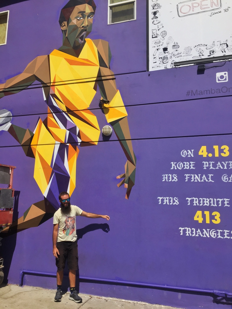 lakers street art